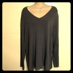 Eileen Fisher Tunic top sz 1X violet stretch New